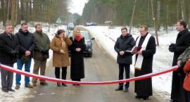 Gm. Karsin. Droga z Cisewia do Bąka oddana do użytku