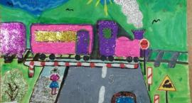 Łubiana. Bezpieczny Przejazd Kolejowy oczami dzieci - rozstrzygnięto Wielki Konkurs Plastyczny