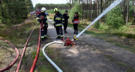 Pożar lasu w Leśnictwie Zabrody - w akcji 80 strażaków. Na szczęście to tylko ćwiczenia