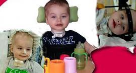 W wypadku stracił mamę. Jest sparaliżowany. 3-letni Dominik walczy, by odzyskać sprawność