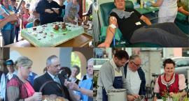 Weekend z Burymi Misiami, żurawiną, dożynkami i sobotą mundurowych krwiodawców
