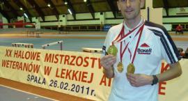 Trzy złote medale i rekord Polski Leszka Zblewskiego