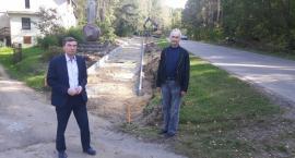Budowa ścieżki rowerowej z Karsina do Wiela na ukończeniu
