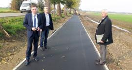 Budowa ścieżki rowerowej na trasie Karsin-Wiele dobiega końca