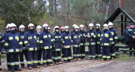 Pożar lasu w Zdunowicach - w akcji 14 zastępów strażaków z trzech powiatów