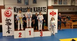 Pięć medali dla kościerskich karateków na Pucharze Gdańska