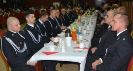 Strażacy z gminy Dziemiany przy wspólnym wigilijnym stole