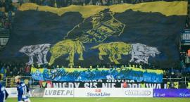 Fanklub Arki z Kościerzyny na meczu Arka Gdynia-Lech Poznań