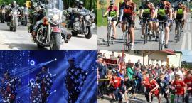 Weekend pod znakiem disco polo, biegów, motocyklistów i cyklistów