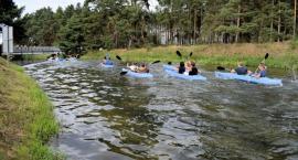 Przystań kajakowa w Bąku oddana do dyspozycji mieszkańców i turystów