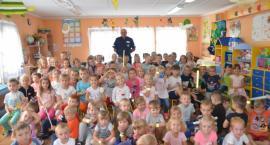 Kościerzyna. Policjanci z wizytą u przedszkolaków