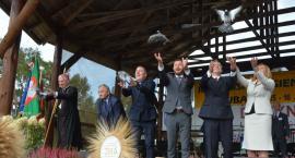 Rolnicy z diecezji pelplińskiej dziękowali za plony w Lubaniu