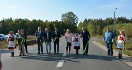 Mały Klincz. Zmodernizowana droga oficjalnie oddana do użytku - będzie kontynuacja