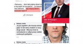 Radny PiS wznosi toast za śmierć Adamowicza