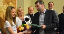 Olimpia Breza z gratulacjami od władz miasta
