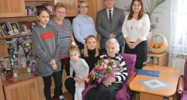 Najstarsza mieszkanka gminy Dziemiany świętowała 99. urodziny
