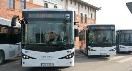 Pięć nowych autobusów wyjechało na ulice Kościerzyny