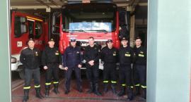 Policjanci szkolili kościerskich strażaków