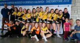 Szczypiornistki ze złotem XXV Ogólnopolskiej Olimpiady Młodzieży