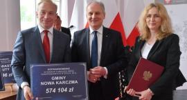 Umowy na schetynówki podpisane - gmina Nowa Karczma z dotacją