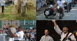 Weeekend z weteranami szos, festiwalem disco polo,  kabaretem Czesuaf i Baciarami, czy strongmanami