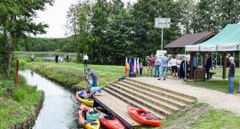Przystań kajakowa nad jeziorem Wierzysko uroczyście otwarta