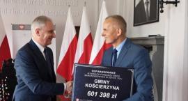 Gmina Kościerzyna z dotacją na przebudowę dróg w Małym Klinczu