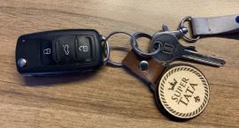Znaleziono kluczyki na terenie firmy WOBET w Miłowie