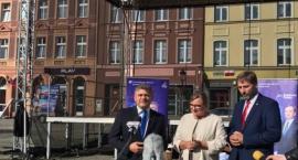 Europosłanka Beata Kempa z wizytą w Kościerzynie