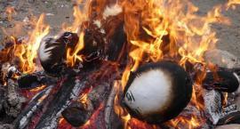 Kościerzyna. Spalili Marzannę w Strzelnicy