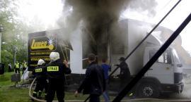Pożar agregatu na Truskawkobraniu