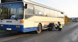 Kościerzyna. Autobus zderzył się z osobówką - są ranni