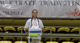 Sukces kościerskich karateków - potrójne złoto dla Magdy Mielnik