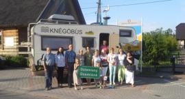 Knégòbùs Radia Kaszëbë odwiedził gminę Dziemiany