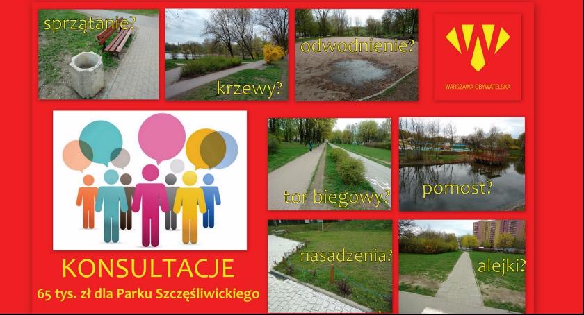 konsultacje, Parku Szczęśliwickiego - zdjęcie, fotografia