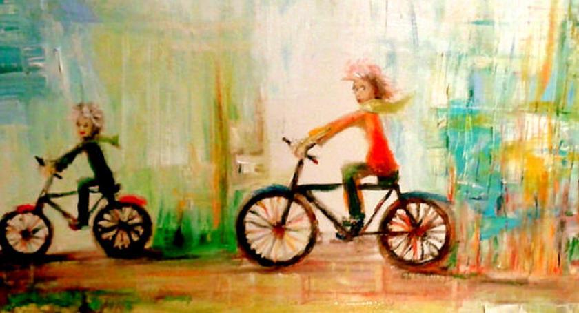 wystawy, skarbcu chwil wystawa malarstwa Busse Turczyńskiej - zdjęcie, fotografia