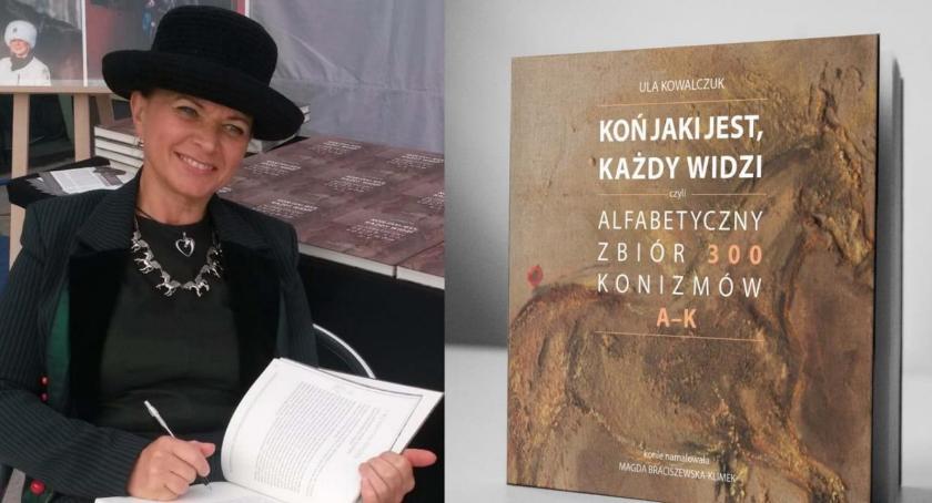 literatura, Spotkanie Kowalczuk autorką książki każdy widzi - zdjęcie, fotografia