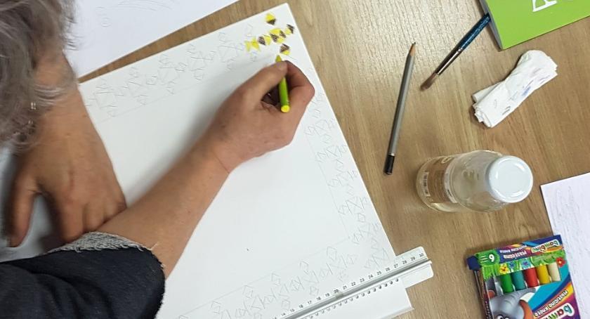 plastyka, SŁOWO OBRAZ warsztaty ilustracji baśniowej Bibliotece Skrzydłami - zdjęcie, fotografia