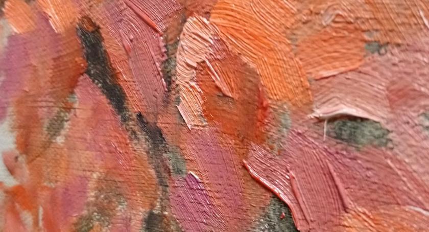 plastyka, Malarstwo Magazynie Sztuk filii Ośrodka Kultury Ochoty - zdjęcie, fotografia