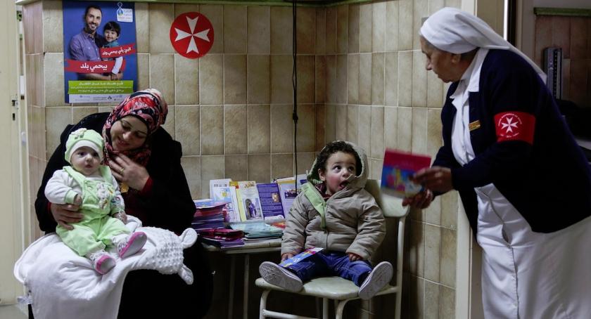 Ochota dla uchodźców z Syrii, Ochota uchodźców Syrii - zdjęcie, fotografia