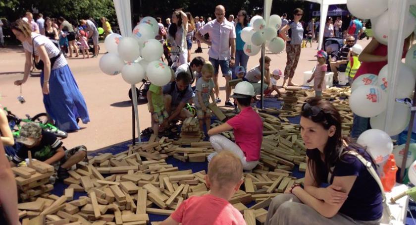 imprezy plenerowe, Dzień dziecka tradycyjnie Szczęśliwicach - zdjęcie, fotografia