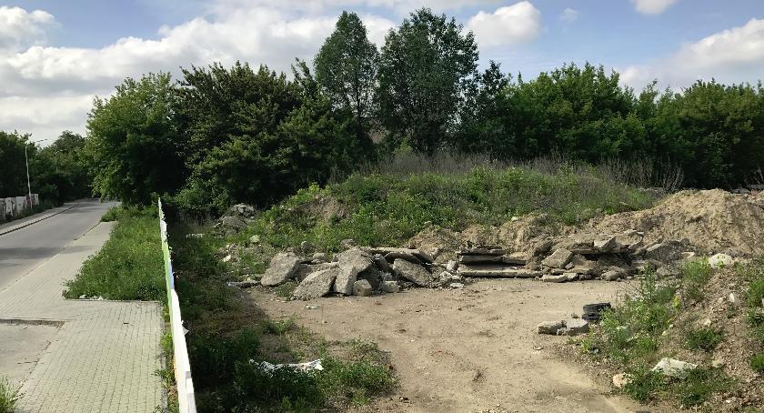 inwestycje, Gruzowisko Borsuczej zmieni zielone osiedle - zdjęcie, fotografia