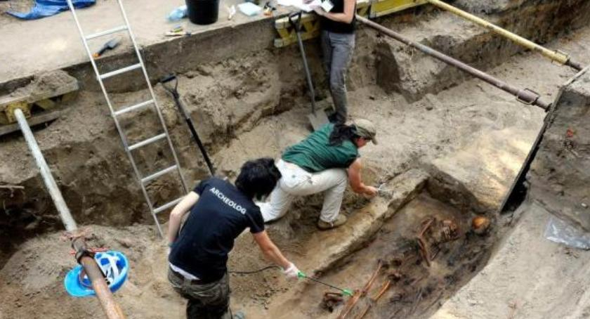 Historia, Kwatera spotkanie archeologiem - zdjęcie, fotografia