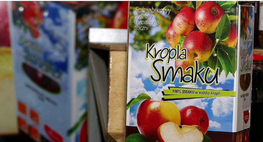 Ciekawy produkt   , jabłkowy prosto - zdjęcie, fotografia