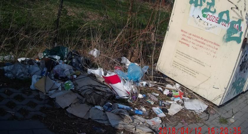 Gospodarka odpadami, Ulica Kurhan wizerunkowy problem - zdjęcie, fotografia