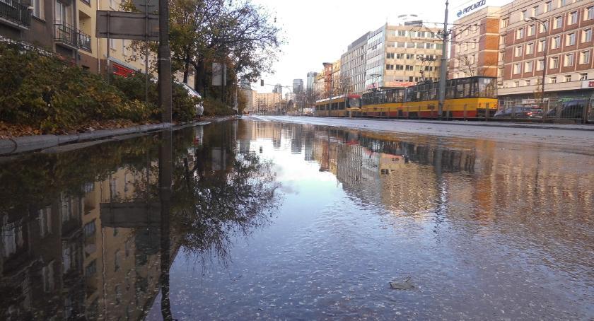 ulice, Jezioro łabędzie Grójeckiej - zdjęcie, fotografia