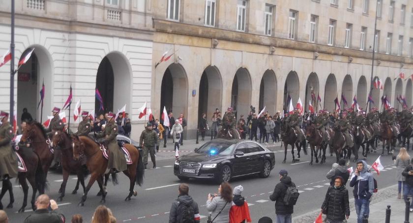 Stulecie niepodległosci, Marsz Niepodległości lecie - zdjęcie, fotografia