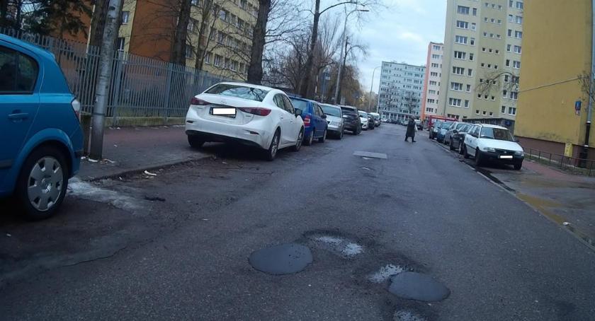 ulice, Prosimy łaty łatach - zdjęcie, fotografia