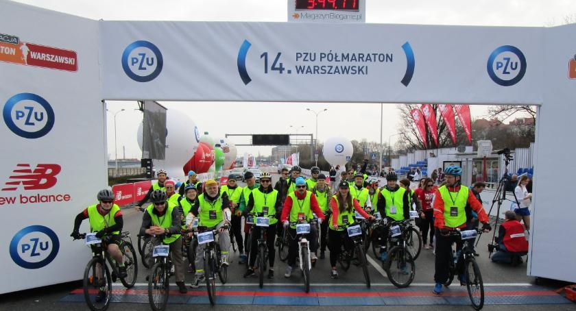 Bieganie, Półmaraton Warszawski oczami wolontariusza - zdjęcie, fotografia