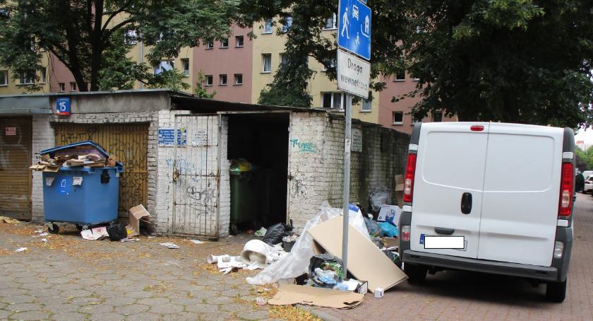 Gospodarka odpadami, Śmietnik miarę naszych możliwości - zdjęcie, fotografia